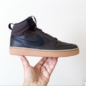 Nike Court Borough Mid 2 Boot Sneakers Brown